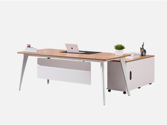 高档办公家具桌椅-班台尺寸-品源班台