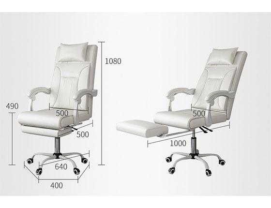 高端老板椅尺寸-品源老板椅