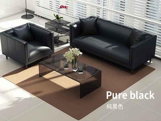老总办公室的沙发-沙发定制厂家-品源办公沙发
