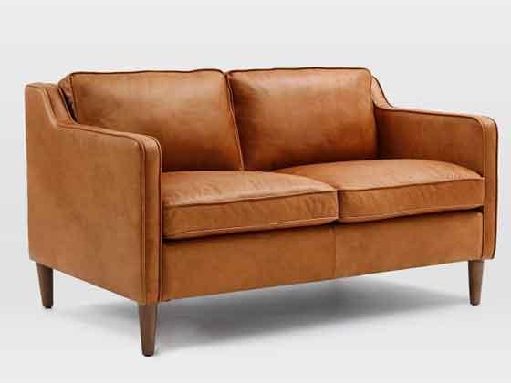 真皮接待沙发-沙发定制厂家-品源办公沙发