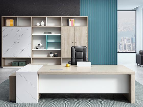 主管办公桌尺寸-办公室班台-品源办公室班台