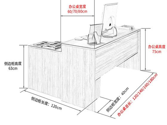 行政单位办公桌尺寸-班台-品源班台