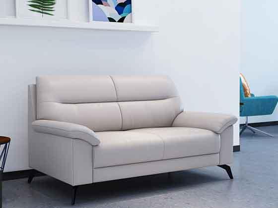 西皮三人位沙发茶几组合-办公沙发-品源办公沙发