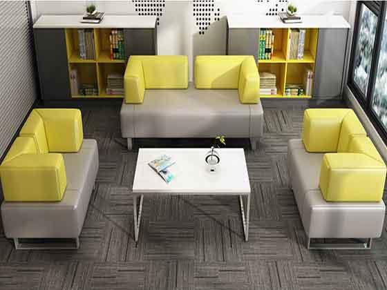 老板接待室沙发茶几-沙发厂家-品源办公沙发