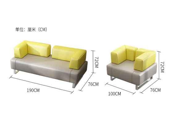 老板办公室的沙发款式尺寸-办公沙发-品源沙发