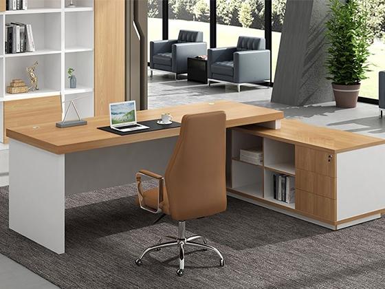 大班桌尺寸-办公室班台-品源办公室班台