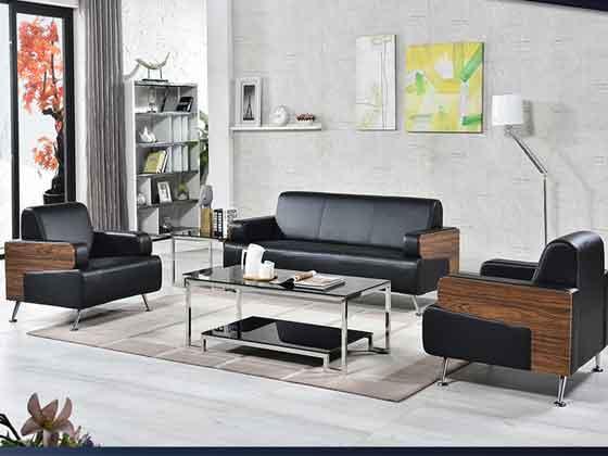 新中式办公沙发-办公室沙发-品源办公沙发