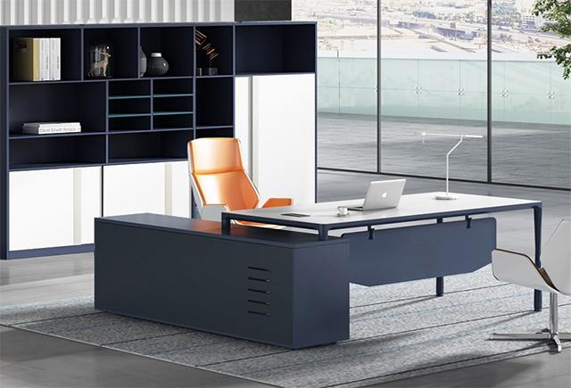 創意老板桌_創意班臺_創意辦公桌椅設計