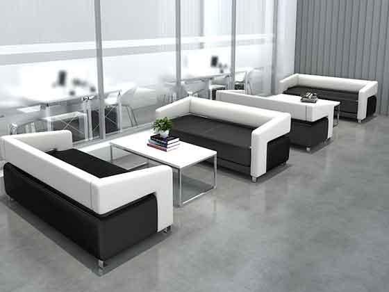 总经理办公室沙发茶几-沙发定制厂家-品源办公沙发