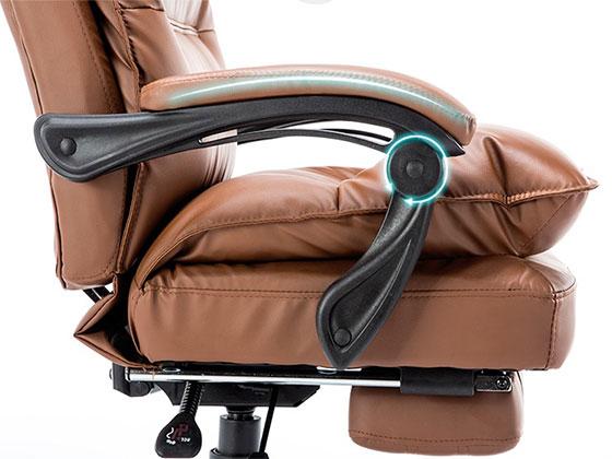 升降旋转时尚经理电脑椅-品源老板椅