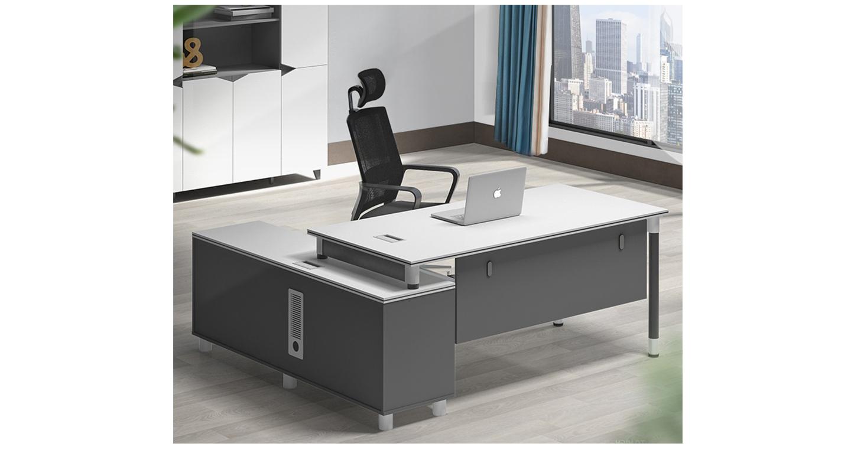 钢架办公桌工厂-班台-品源班台