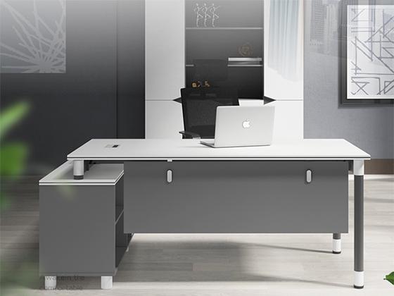 钢架办公桌-班台尺寸-品源班台