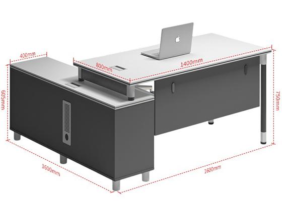 板钢架办公桌尺寸-班台-品源班台