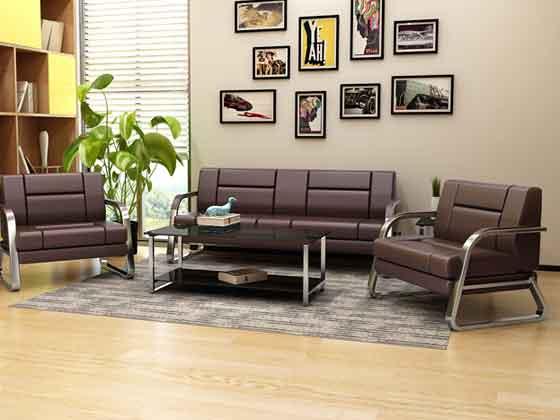 图书室休闲沙发-沙发厂家-品源办公沙发