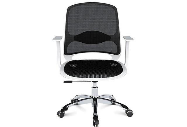 彩色办公室座椅-职员椅-弓形椅