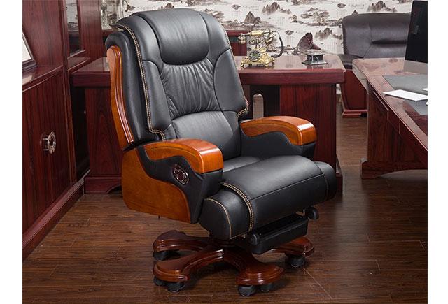 办公椅橡木_办公实木椅子 LBY029