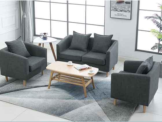 贵宾室单人沙发-办公沙发-品源办公沙发