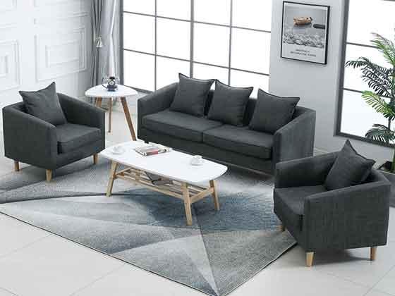 贵宾室单人沙发-沙发厂家-品源办公沙发