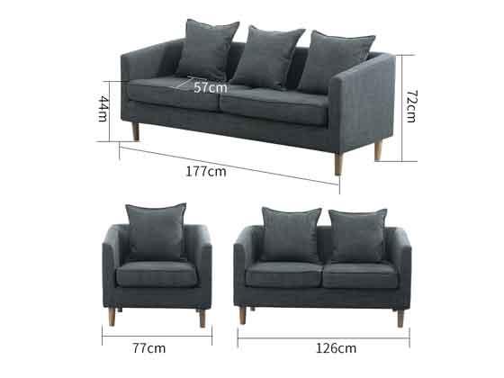 商务沙发茶几尺寸-办公沙发-品源沙发
