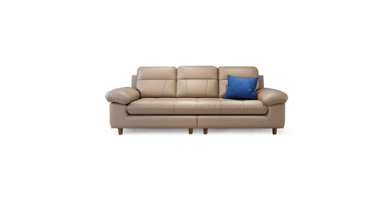 浅灰色商务沙发-办公沙发-品源办公沙发