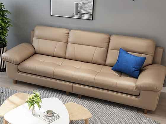 浅灰色商务沙发-沙发定制厂家-品源办公沙发