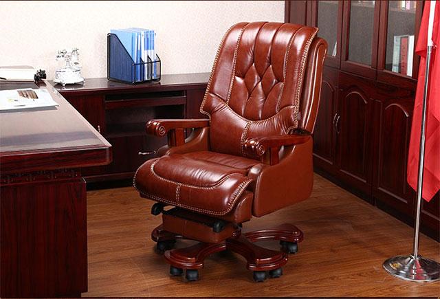 上海奉贤区办公老板椅实木制作