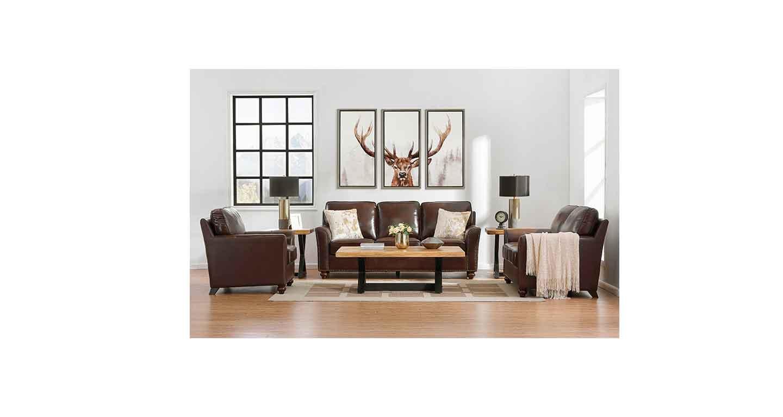咖啡色沙发-办公沙发-品源办公沙发