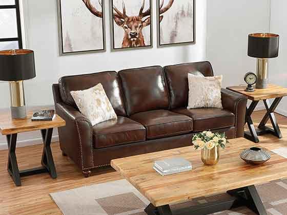 咖啡色沙发-办公室沙发-品源办公沙发