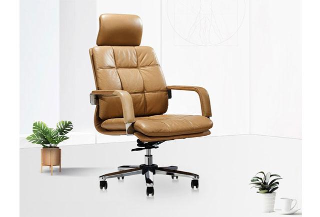真皮大班椅 旋转老板椅 LBY047