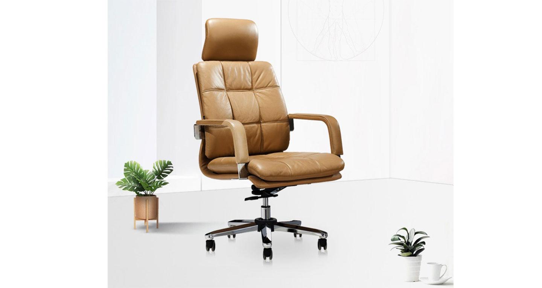 真皮大班椅-品源老板椅