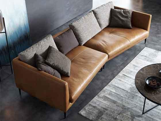 企业接待处沙发-办公沙发-品源办公沙发