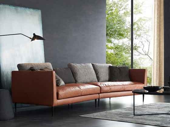企业接待处沙发-沙发厂家-品源办公沙发