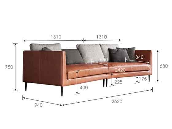 企业沙发尺寸-办公沙发-品源沙发