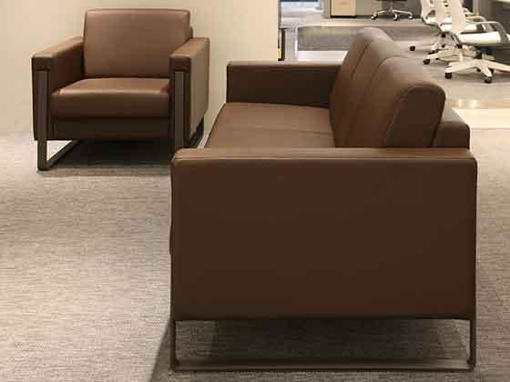图书室软包沙发-沙发厂家-品源办公沙发