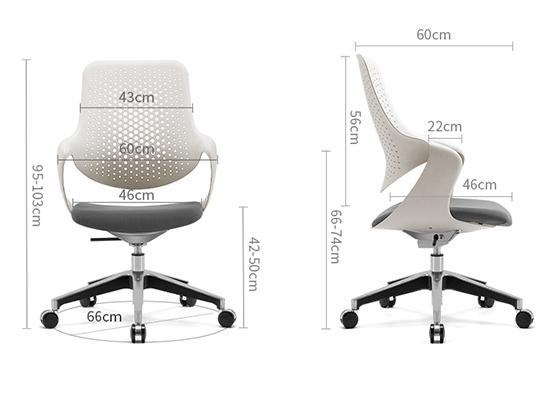 办公家具座椅定制尺寸-品源办公椅