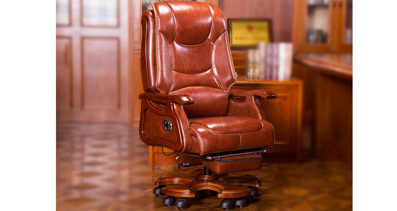 新中式实木办公椅-品源老板椅