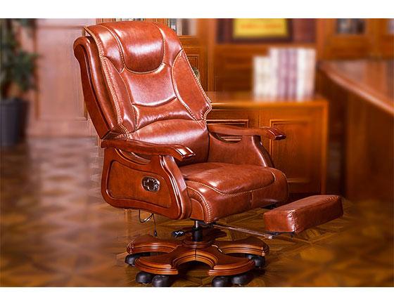 新中式老板办公椅子-品源老板椅