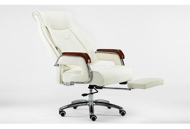 简约现代老板椅 真皮电脑办公椅 子牛皮升降椅人体工学 LBY2017030102