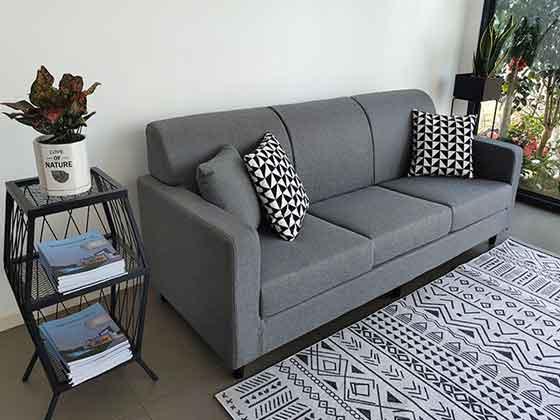 展厅用沙发-办公沙发-品源办公沙发