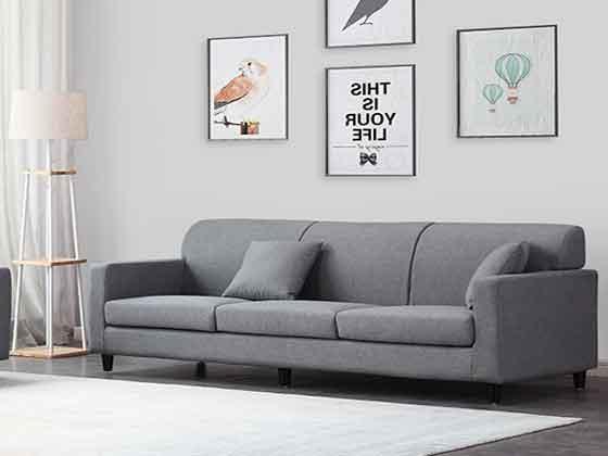 展厅用沙发-沙发定制厂家-品源办公沙发