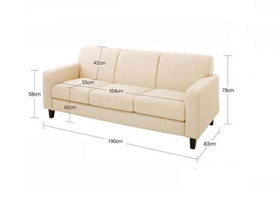 展厅用沙发尺寸-办公沙发-品源沙发
