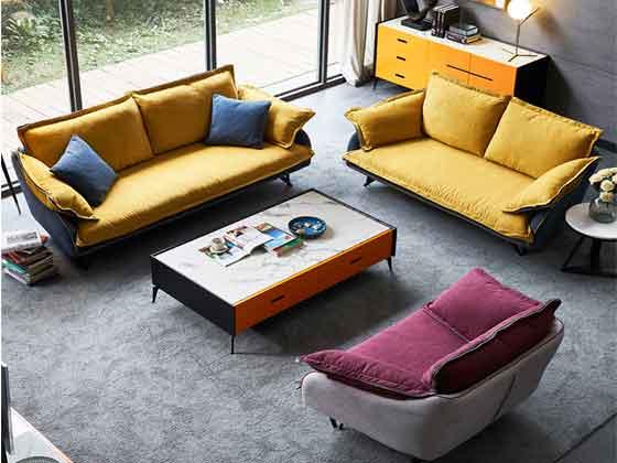 展会沙发尺寸-办公沙发-品源办公沙发