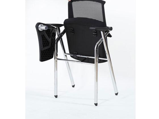 培训椅子带写字板-品源培训椅