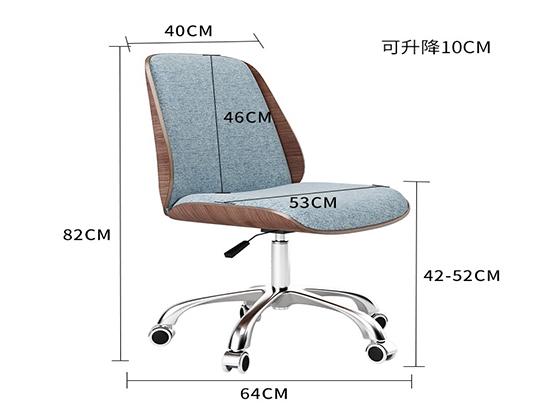 办公椅转椅尺寸-品源办公椅