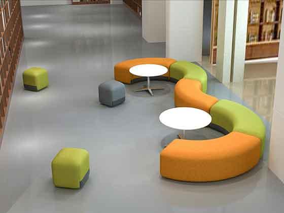 早教沙发定制-办公室沙发-品源办公沙发