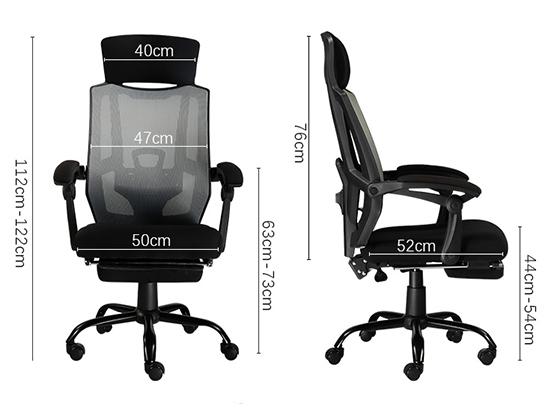 办公椅升降转尺寸-品源办公椅