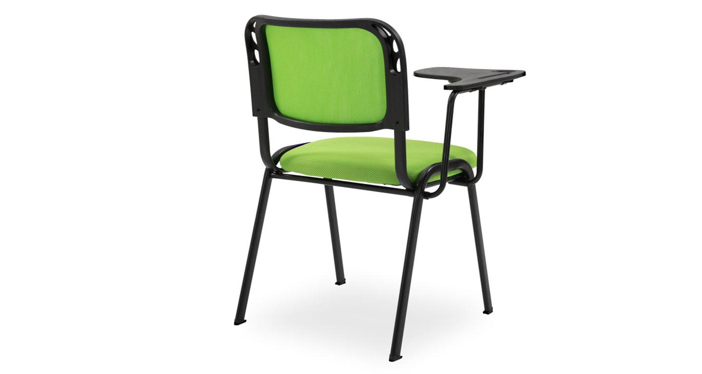 办公椅带写字板-品源培训椅