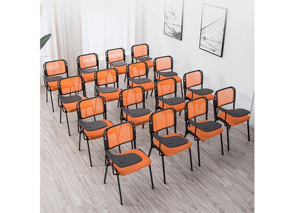 带写字板培训椅-品源培训椅