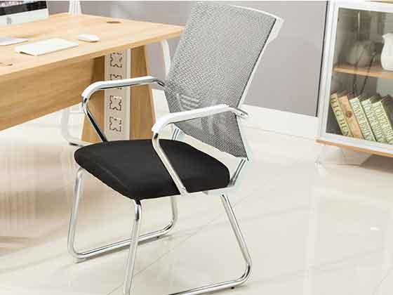 钢架网布椅-品源会议椅