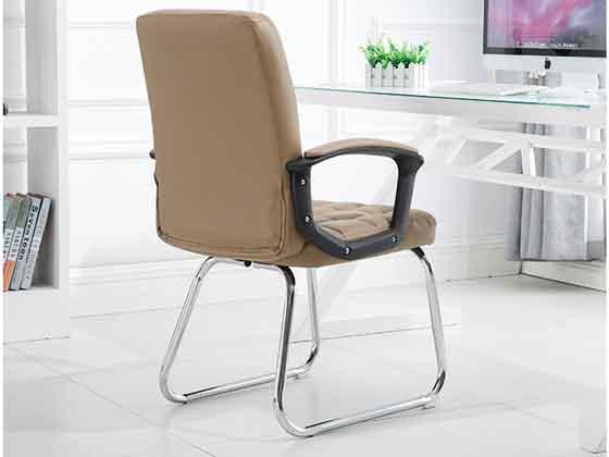 弓形椅仿皮-品源会议椅